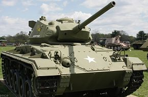 US Army M24 Chaffee Light Tank