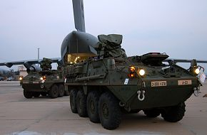 US Army Stryker Armored Combat Vehicle
