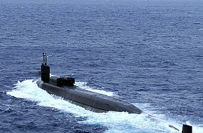 USS Ohio SSGN 726 Guided-Missile Submarine