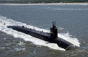USS Florida SSGN 728 Ohio-class Guided Missile Submarine
