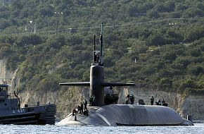 USS Florida SSGN 728 Ohio class guided-missile submarine