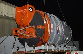 US Navy Deep Submergence Unit Submarine Rescue Chamber