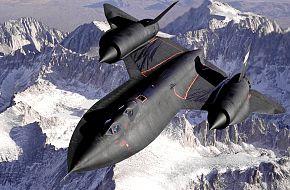 NASA SR-71 Blackbird Test Aircraft