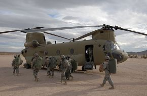 US Army CH-47F Chinook