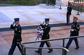 Changing of Wreath - Tomb of the Unknowns