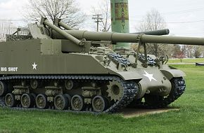 US Army M40 Big Shot 155mm SPG