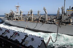 USNS Rainier (T-AOE 7) Fast Combat Support Ship