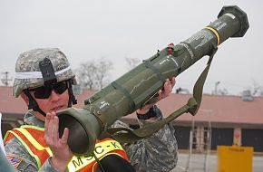 US Army M136 AT-4 Anti-Tank Weapon System