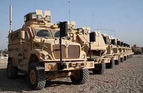 MAX Mine-Resistant Ambush-Protected Vehicles