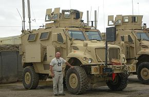 MAX Pro Mine-Resistant Ambush-Protected Vehicle