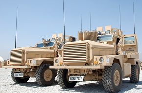 US Army Cougar MRAP