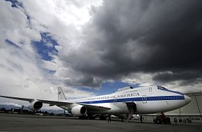USAF E-4B Airborne Operations Center Aircraft