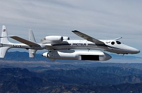 Proteus carries RQ-4 Global Hawk