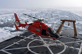 USCG HH-65 Dolphin Helicopter