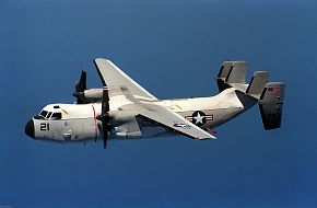 US Navy C-2 Greyhound Transport