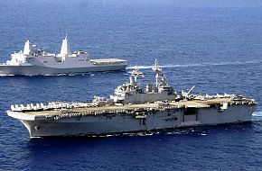USS Boxer (LHD 4) USS New Orleans (LPD 18)