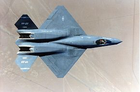 Northrop YF-23 Black Widow II Test Aircraft