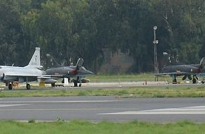 JF-17 and Mirage Fighter Aircraft - PAF