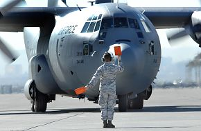 C-130 aircraft - Weapons School Mobility Air Forces Exercise