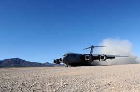 C-17 Globemaster III lands - Mobility Air Forces Exercise