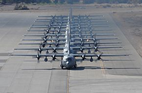 C-130 aircraft - USAF Weapons School Mobility Air Forces Exercise