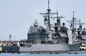 USS San Jacinto CG-56 Guided Missile Cruiser