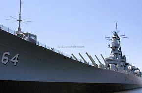USS Wisconsin BB-64 Iowa-class Battleship