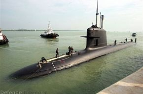 Scorpene Submarine - Royal Malaysian Navy