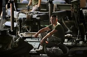 Marine Amphibious Assault Vehicle (AAV) Operator