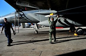 F-15C Aircraft Inspection - US-JASDF Training