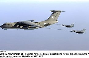 PAF IL-78 Aerial Refueling during Exercise High Mark 2010