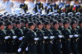 Female Soldiers - People's Liberation Army (PLA)