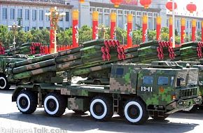 Long-range rocket guns - China - PLA