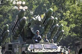 Air defense missiles - China - PLA