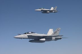 RAAF F-18 Super Hornets Flight