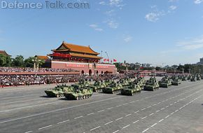 phalanx of tracked howitzer - China, PLA