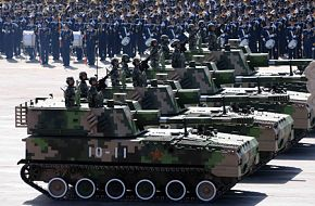 Tracked howitzer Vehicles - China, PLA