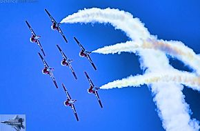 CAF Snowbirds Flight Demonstration Team