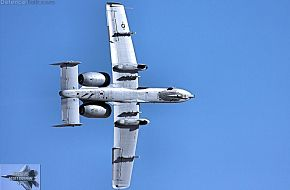 USAF A-10 Thunderbolt II Fighter