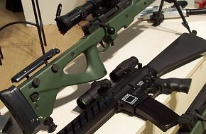 KNT-308 Sniper Rifle with new assault rifle