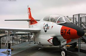 US Navy T-2 Buckeye Jet Trainer