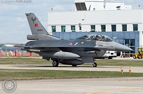 Turkish F-16 from Maple Flag 2010