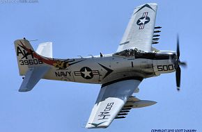 US Navy A-1 Skyraider Attack Aircraft