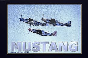 North American P-51 Mustang Fighter
