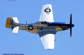 US Army Air Corps P-51 Mustang Fighter