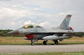 Greek F-16D in Volkel (NL)