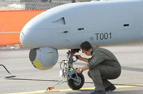 ANKA Turkish Male UAV it is first prototype