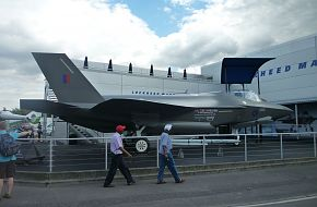 F-35 JSF at Farnborough 2010 Air Show