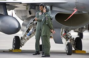 Pakistan Air Force Maintenance officers, Red Flag 2010