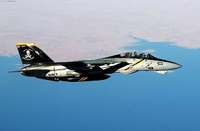F-14B combat mission over Iraq